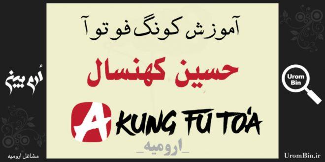 آموزش کونگ فو حسین کهنسال