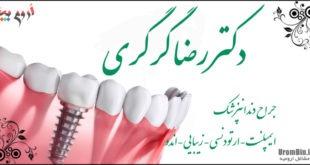 دکتر رضا گرگری دندانپزشک