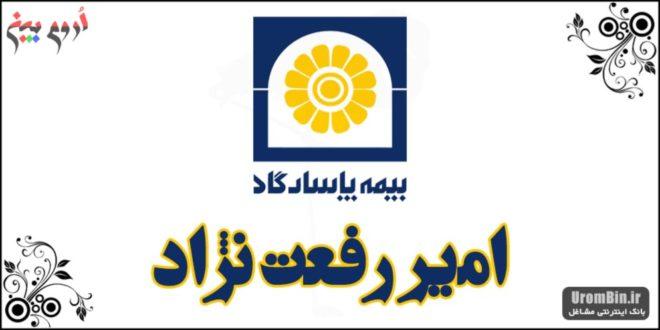 بیمه پاسارگاد امیر رفعت نژاد