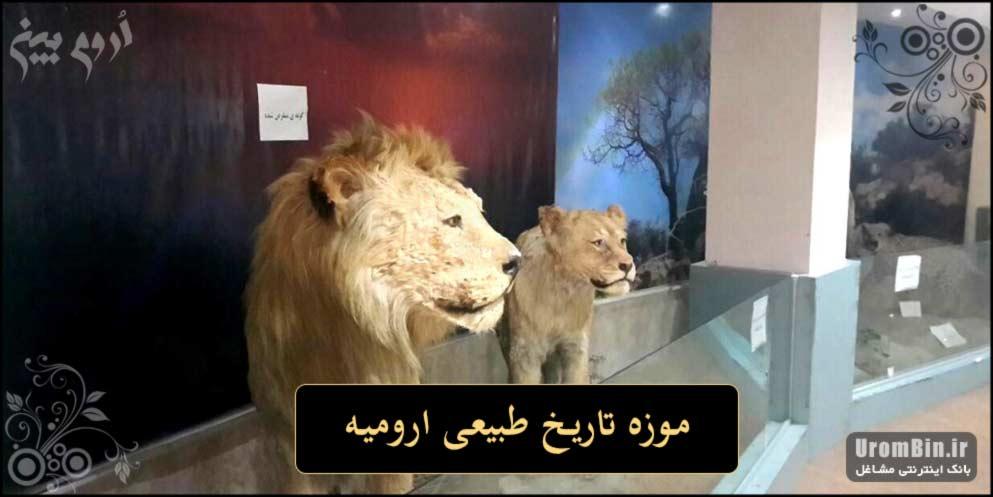 عکس موزه تاریخ طبیعی ارومیه