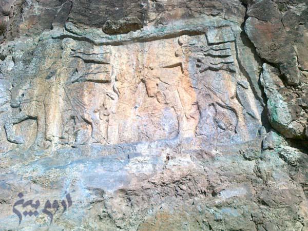 سنگ تاریخی خان تختی سلماس