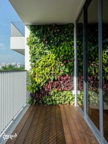 دیوار سبز در اورمیه