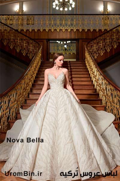 لباس عروس Nova Bella