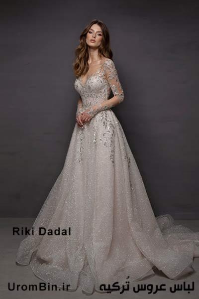 لباس عروس Riki Dadal